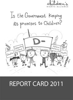Report Card 2011 Front Cover