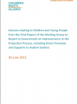 Asylum Seeking Working Group Report Extracts Cover Image